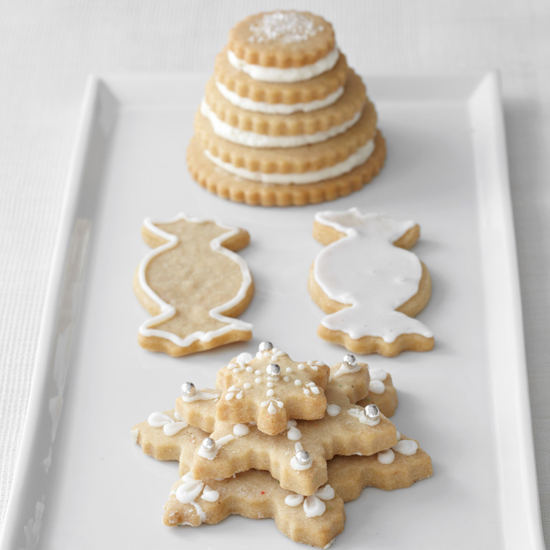 Iced Brown Sugar Cookies
