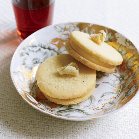 Lemon-Curd Sandwich Cookies