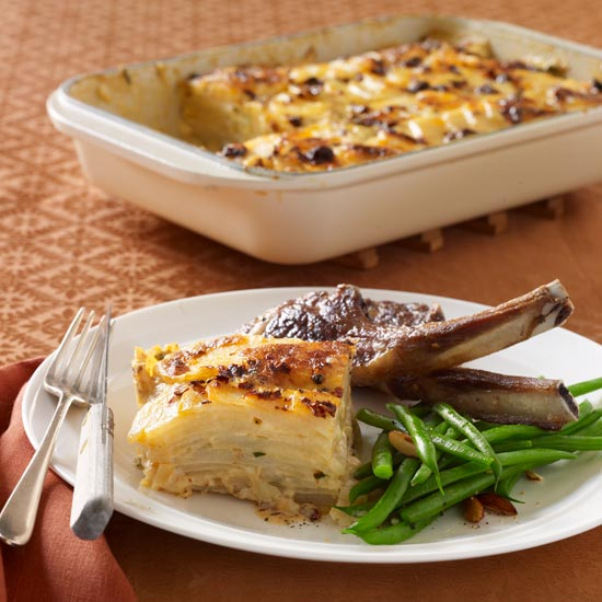 Creamy Scalloped Potatoes with Monterey Jack and Chipotle