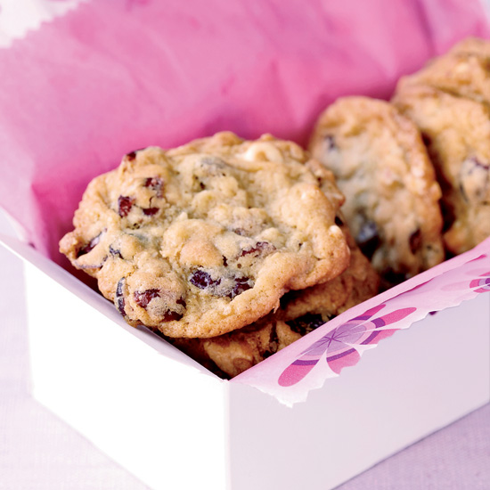 Cranberry-Chocolate Cookies Recipe — Dishmaps
