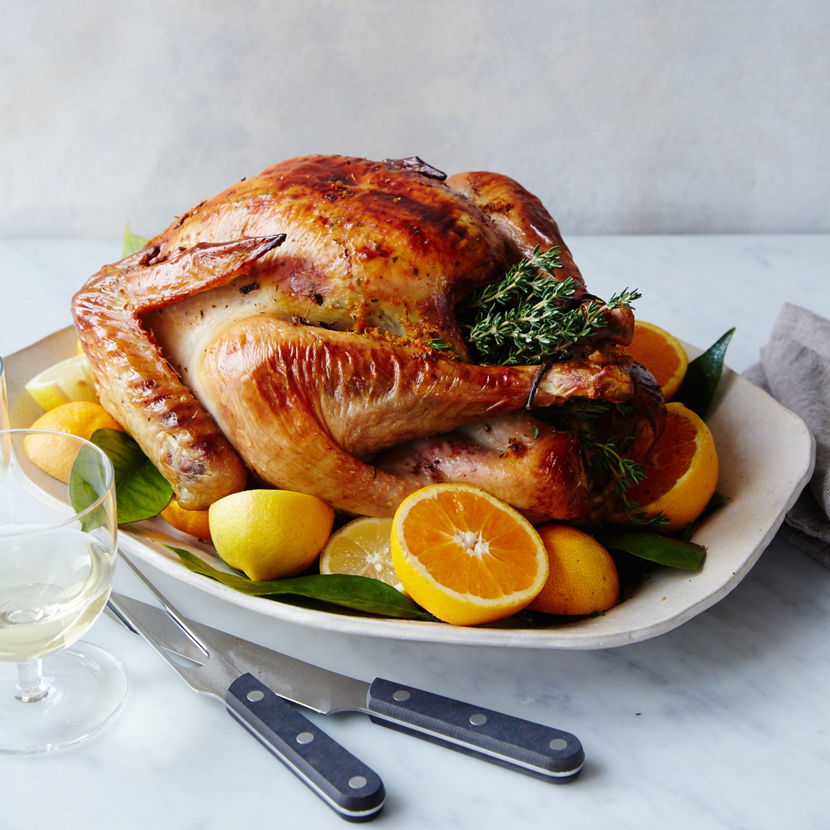 Citrus and Butter Turkey