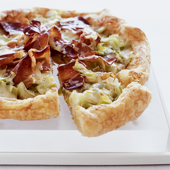 Leek and Gruyère Tart