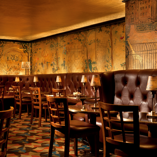 Bemelmans Bar, at the Carlyle, New York City