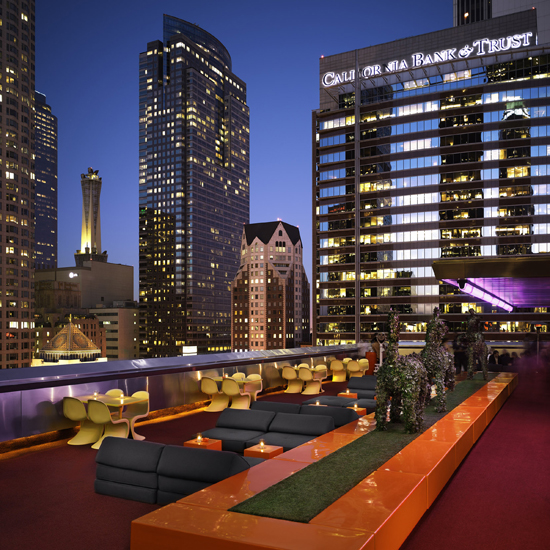 The Rooftop Bar, at the Standard, Los Angeles