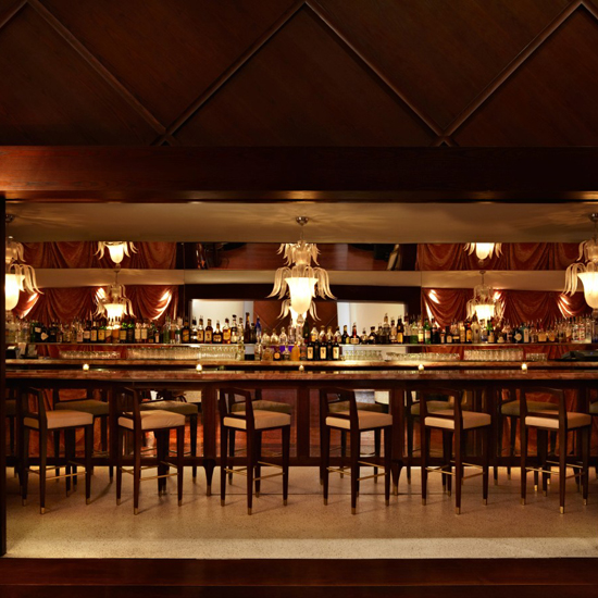 Rose Bar, at the Delano Hotel, Miami Beach
