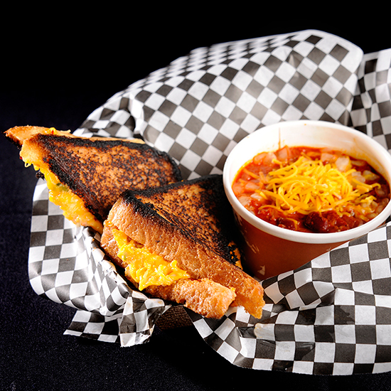 All Day Chili & Grilled Cheese