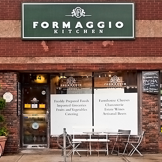 Formaggio Kitchen; Cambridge, MA