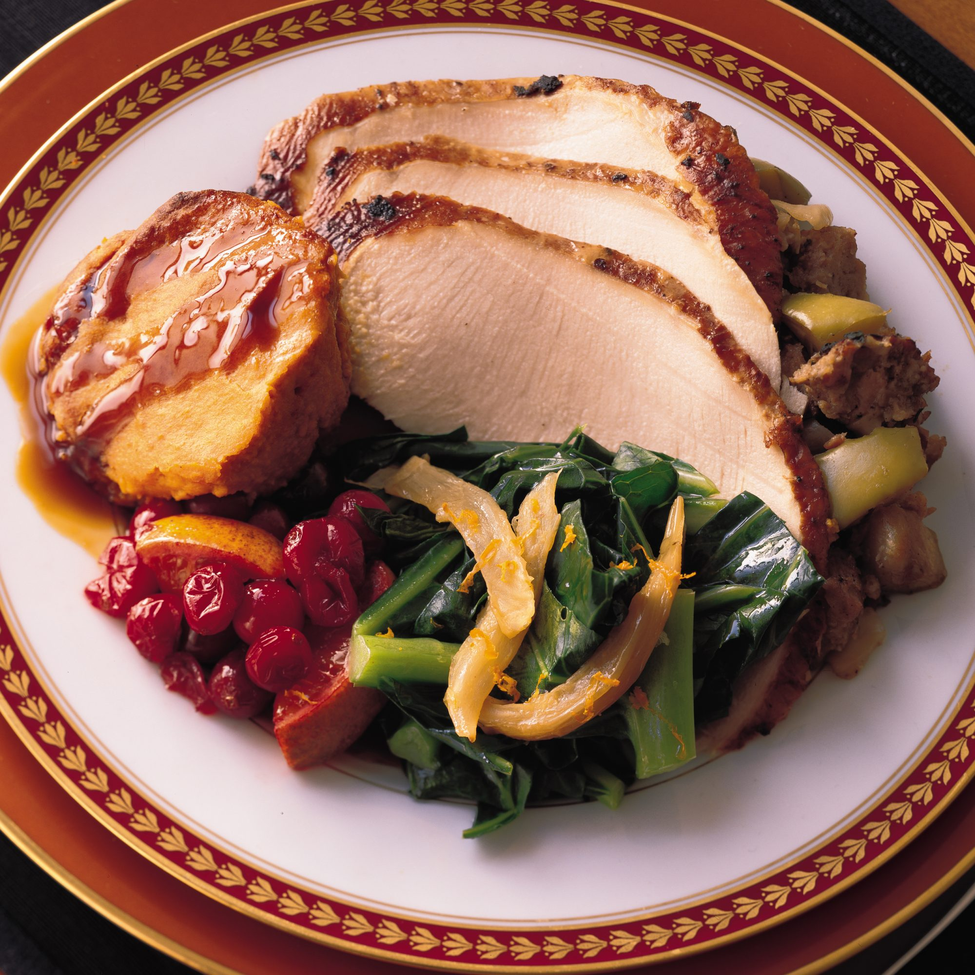Spice-Rubbed Turkey Recipe - Eric Bromberg, Bruce Bromberg | Food ...
