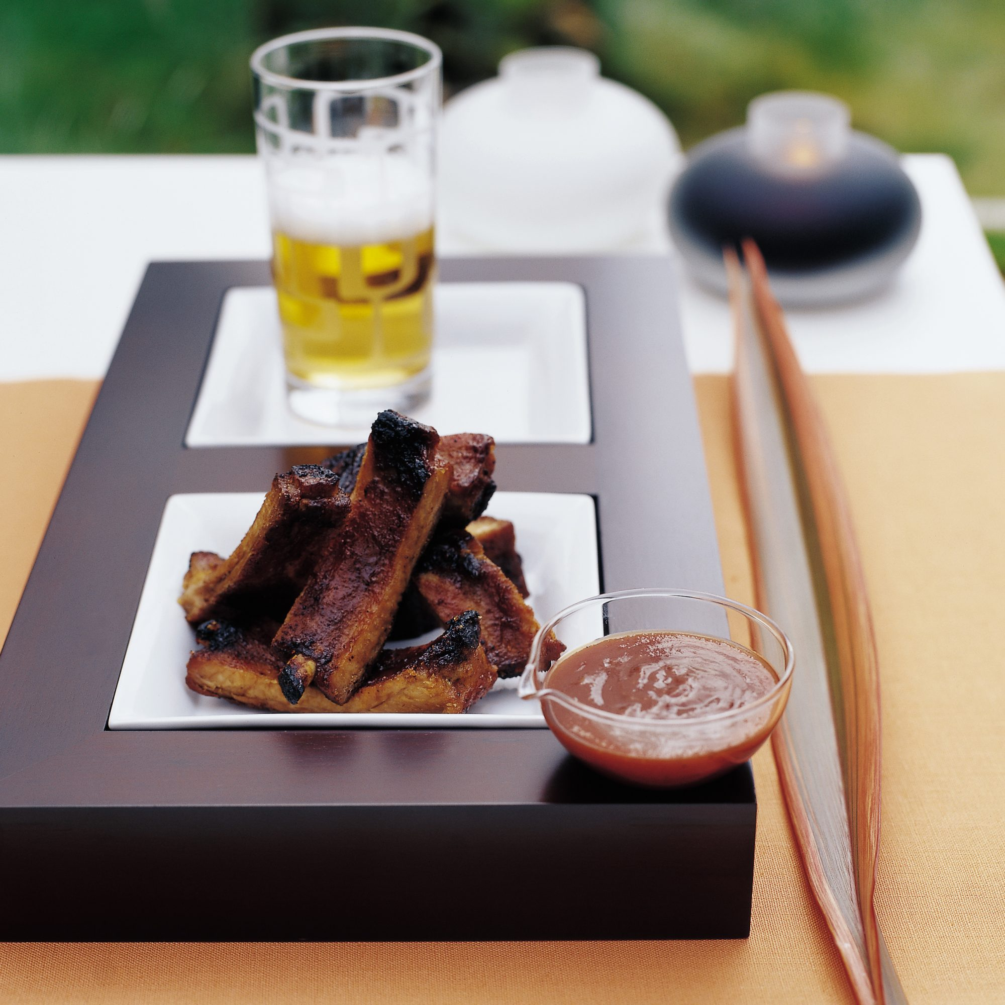 Cider-Basted Baby Back Ribs with Lemon Barbecue Sauce ...