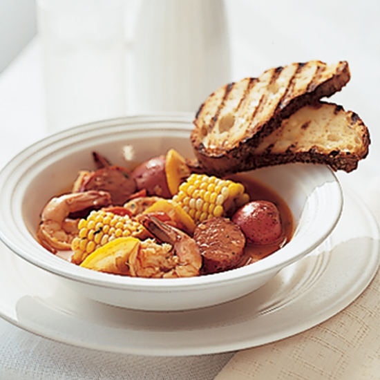 Frogmore Stew with Shrimp and Andouille Recipe - Hugh Acheson | Food ...