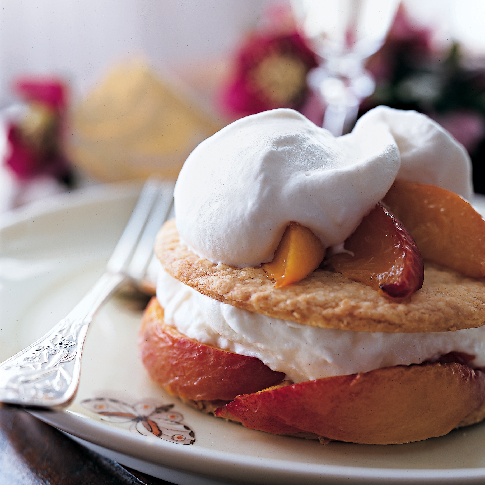 Peach Pie Recipes: Roasted Peach Pies with Cream