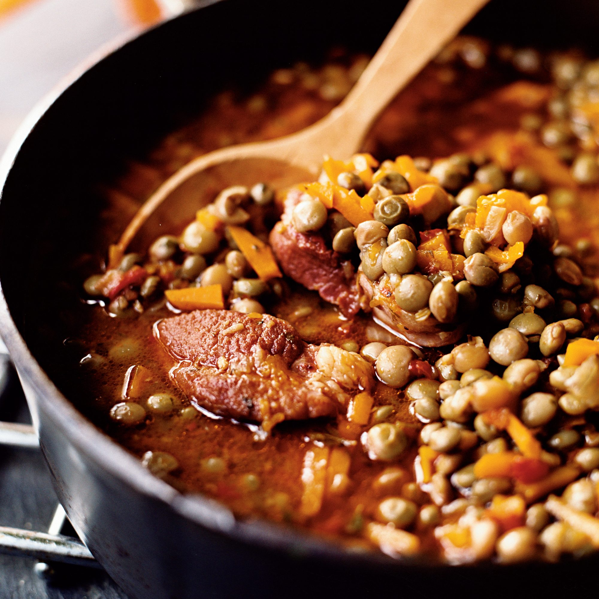 Pigeon Pea and Calabaza Stew