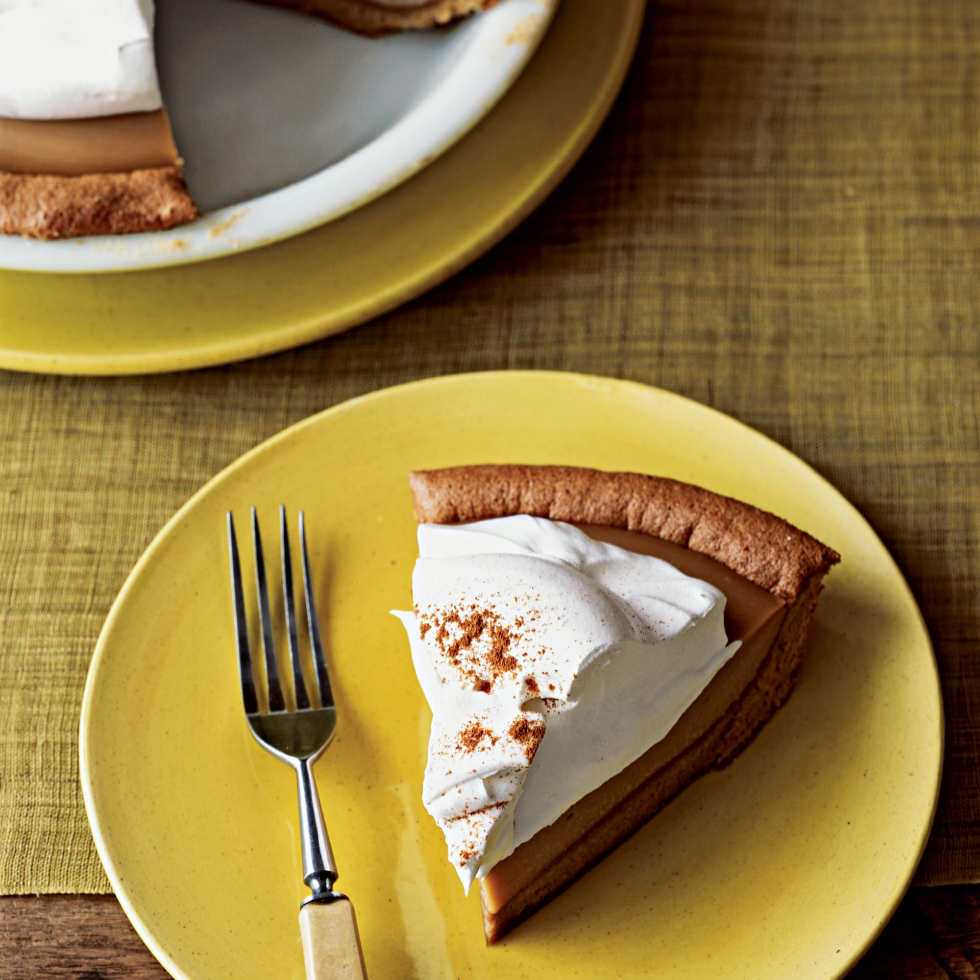 Butterscotch Mousse Pie