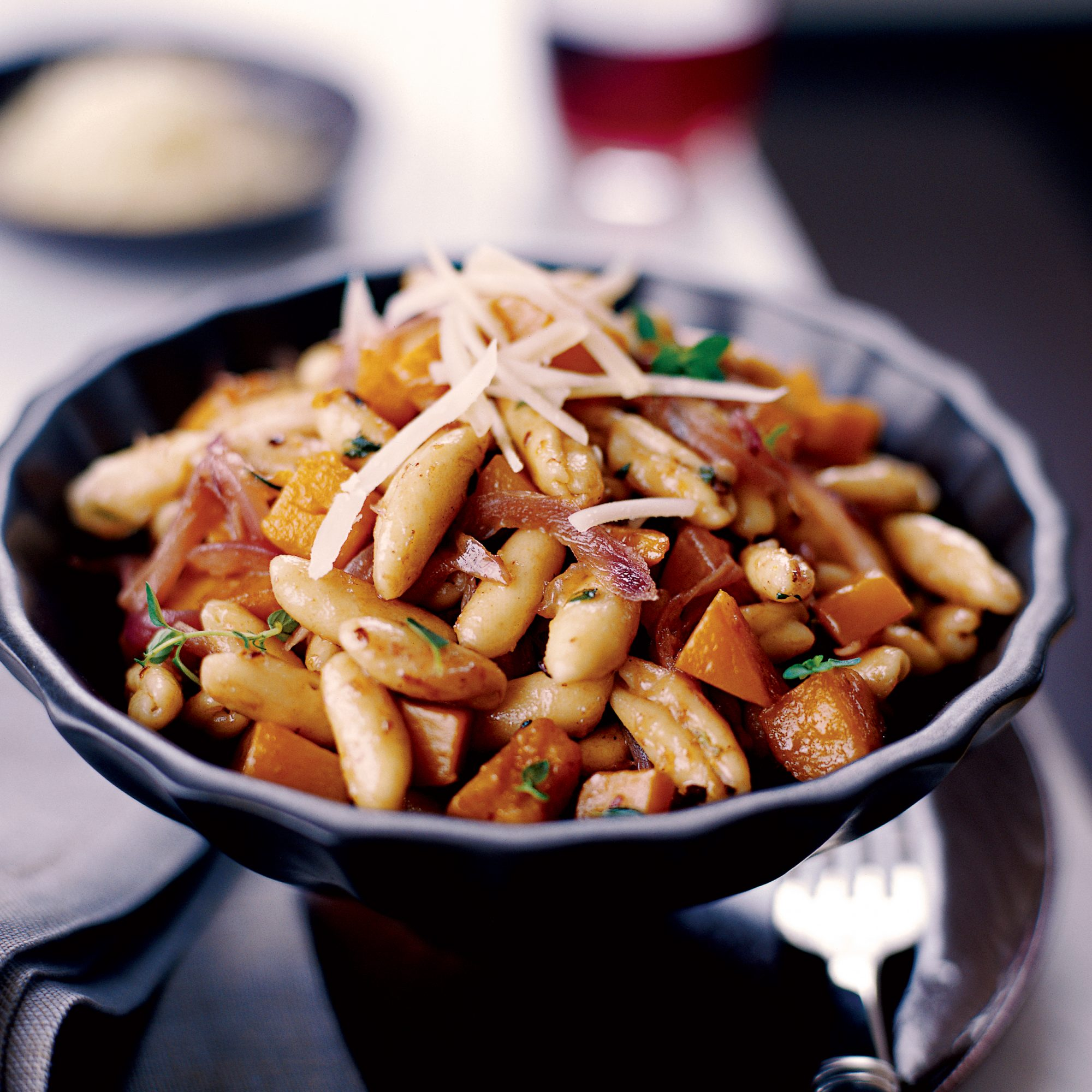 Cavatelli with Spicy Winter Squash for Lent