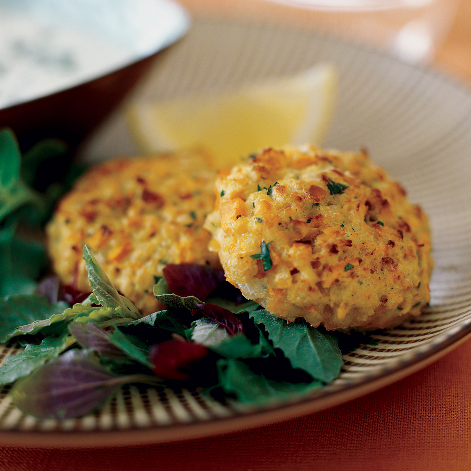 Cumin–Spiced Red Lentil Burgers