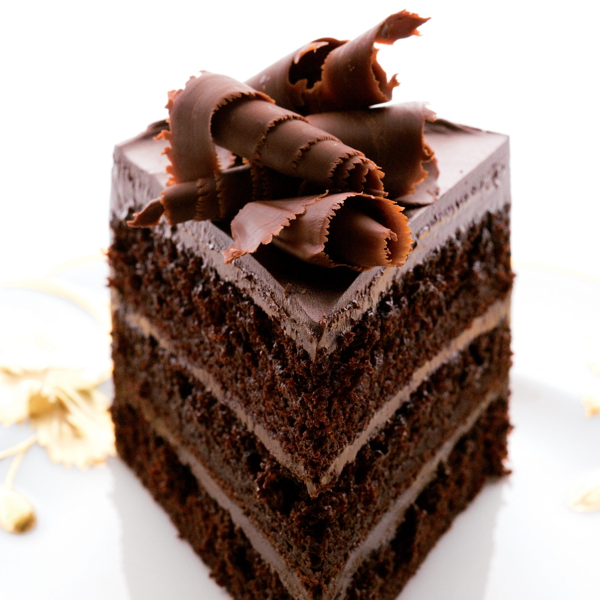 Fudgy Chocolate Layer Cake