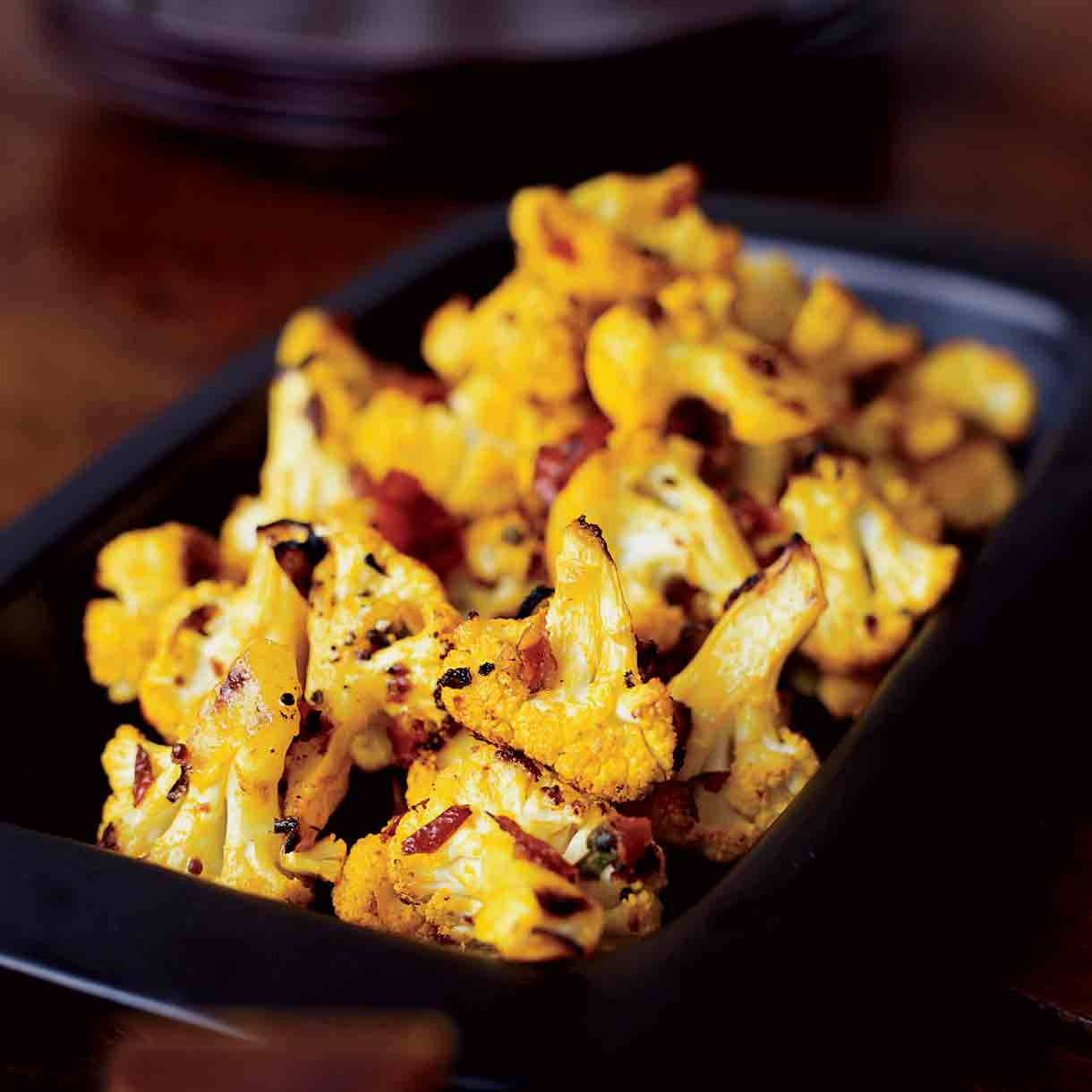 Turmeric-Ginger Cauliflower