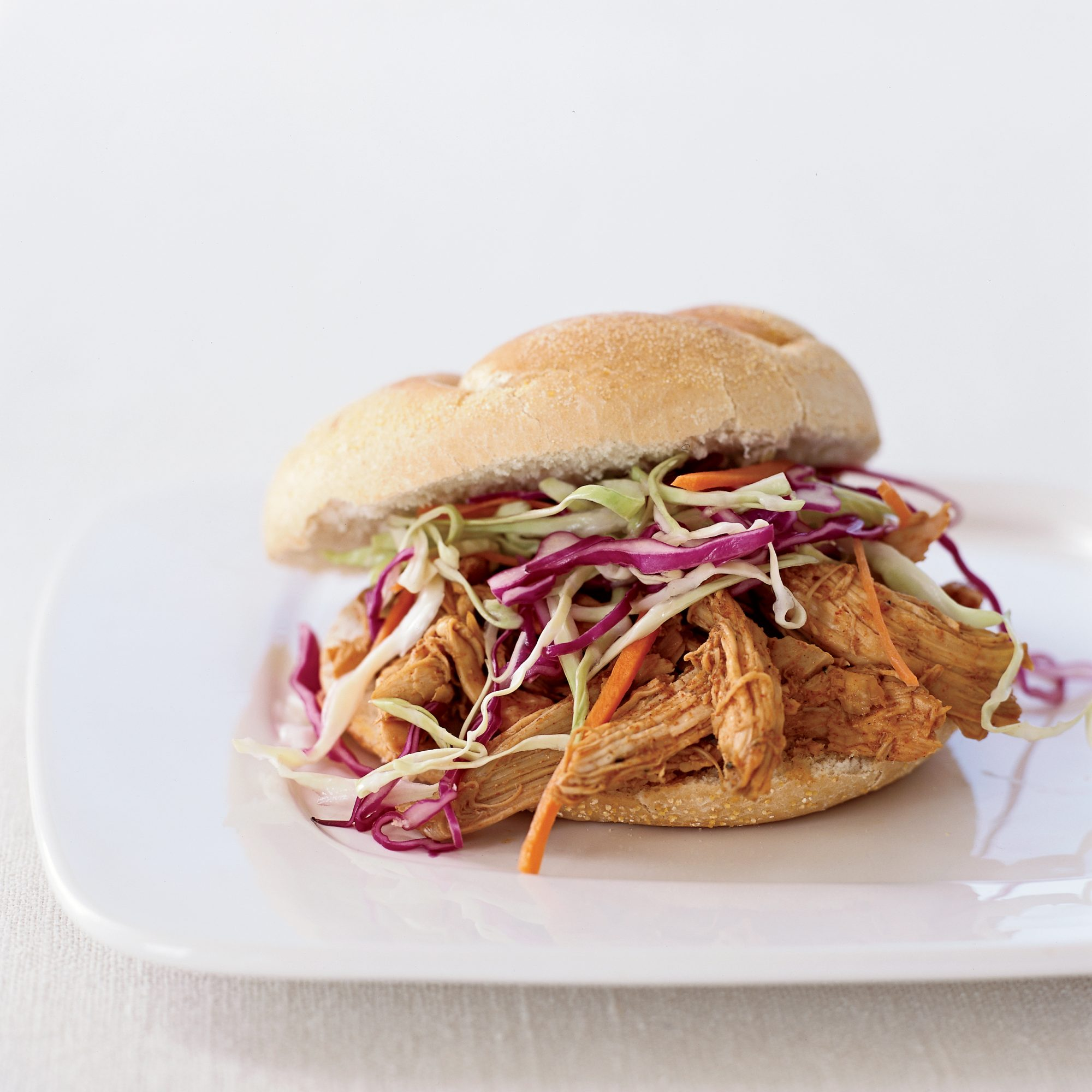 Pulled-Chicken Sandwiches Recipe - Amy Tornquist | Food & Wine