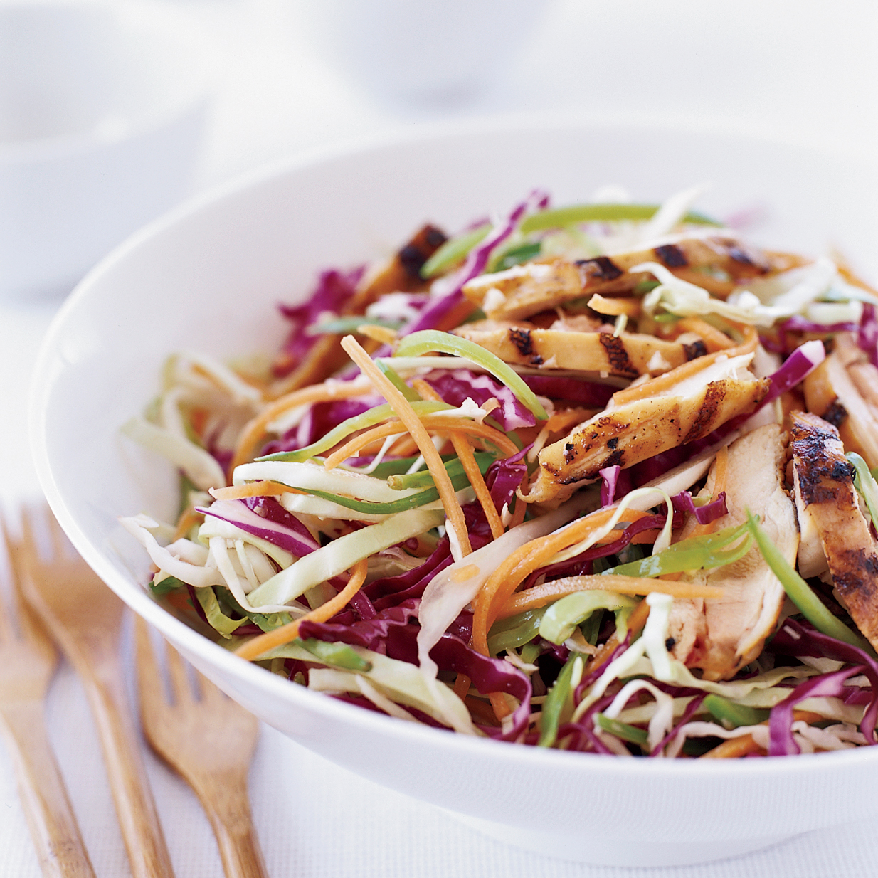 Grilled Chinese Chicken Salad Recipe Grace Parisi Food Amp Wine