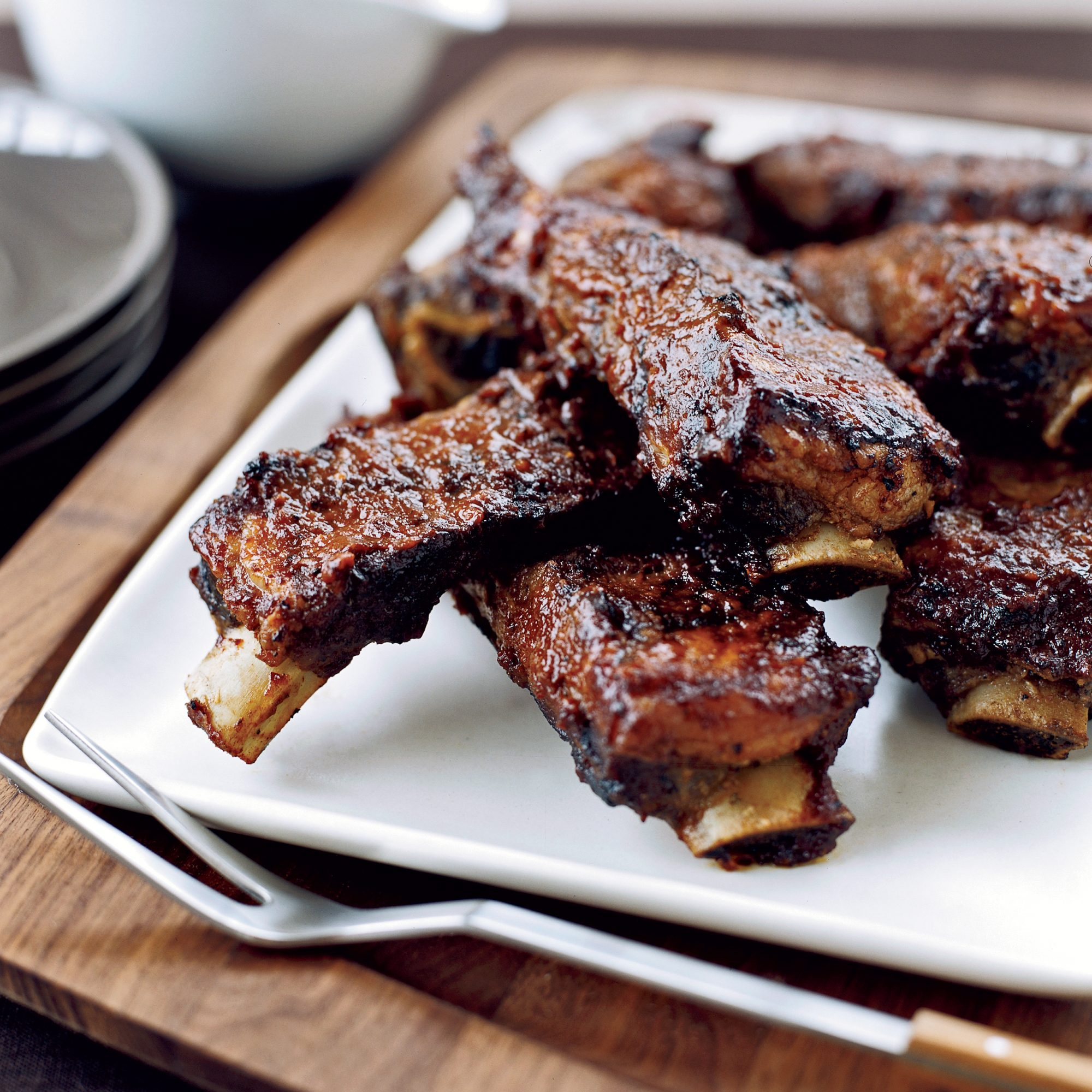 Luscious Barbecued Ribs