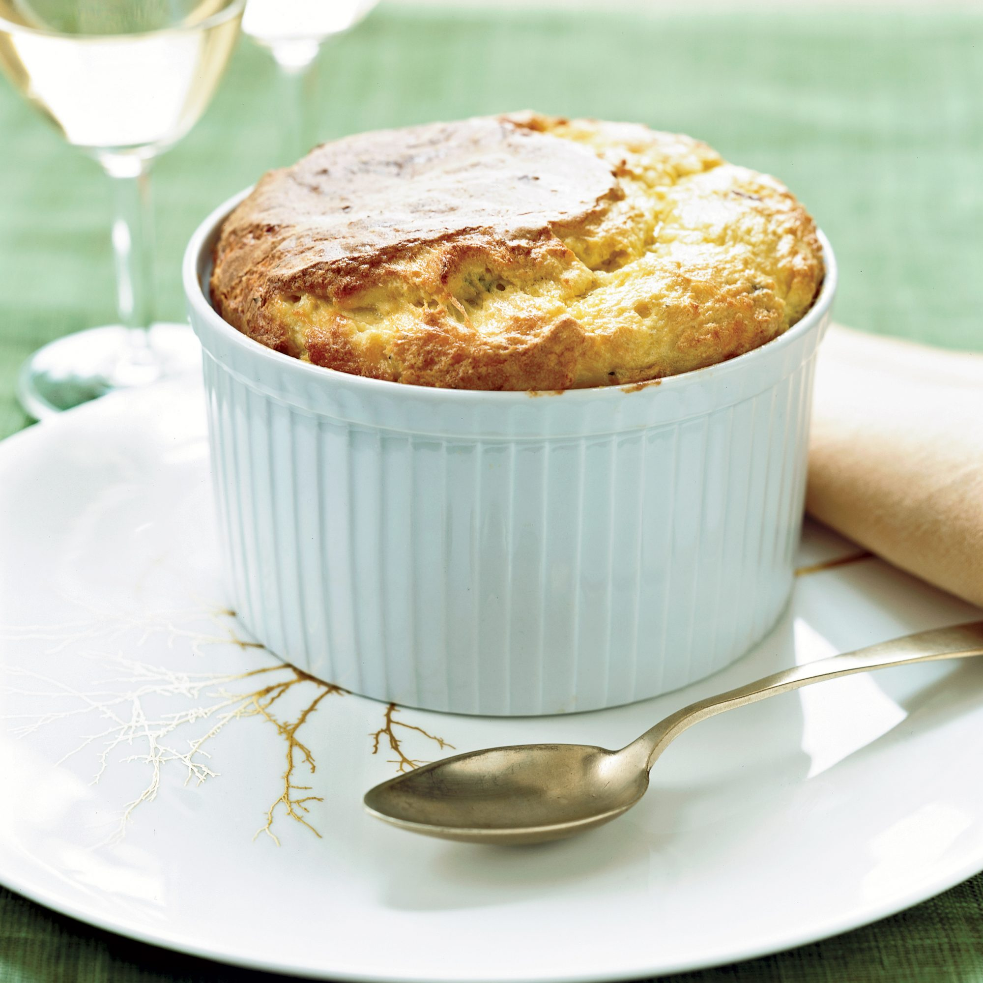 Fresh Corn Soufflé with Bacon and Comté Recipe - Marcia Kiesel ...