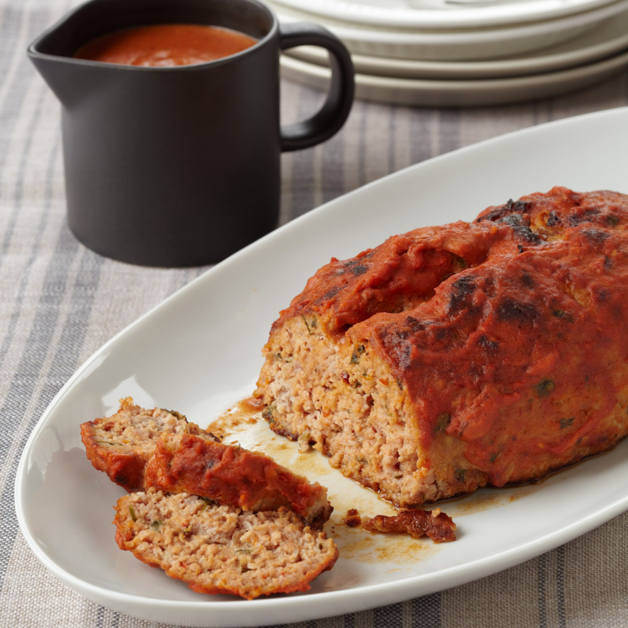 Chickpea and Portabello Meatless Meatloaf by Marcus Samuelsson