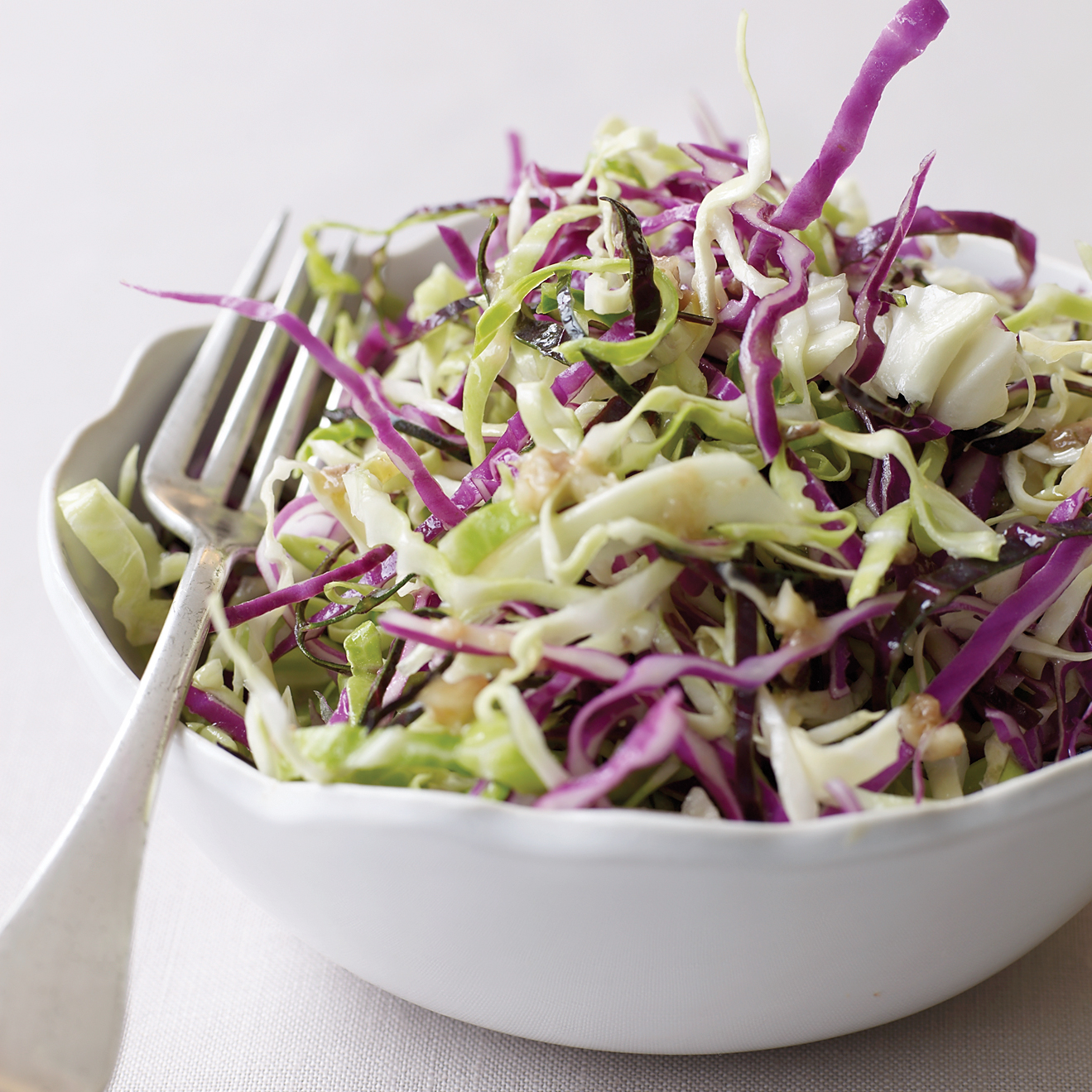 Cabbage salad with vinegar: recipe 76