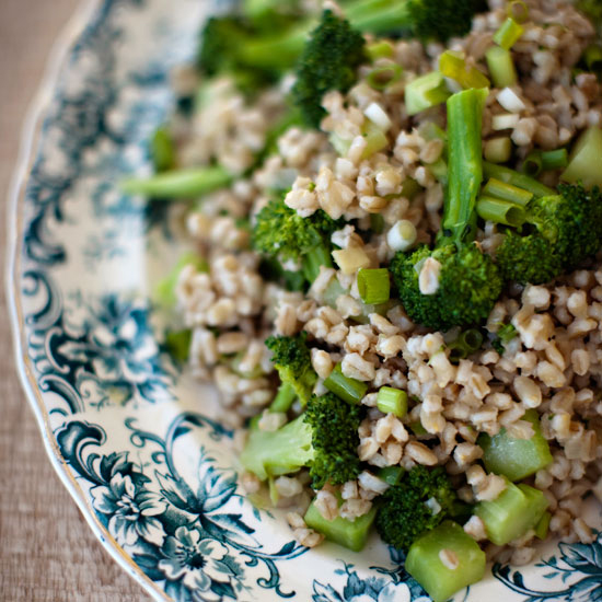 Thanksgiving Broccoli with Herbed Hollandaise Sauce and Toasted Bread Crumbs Recipe