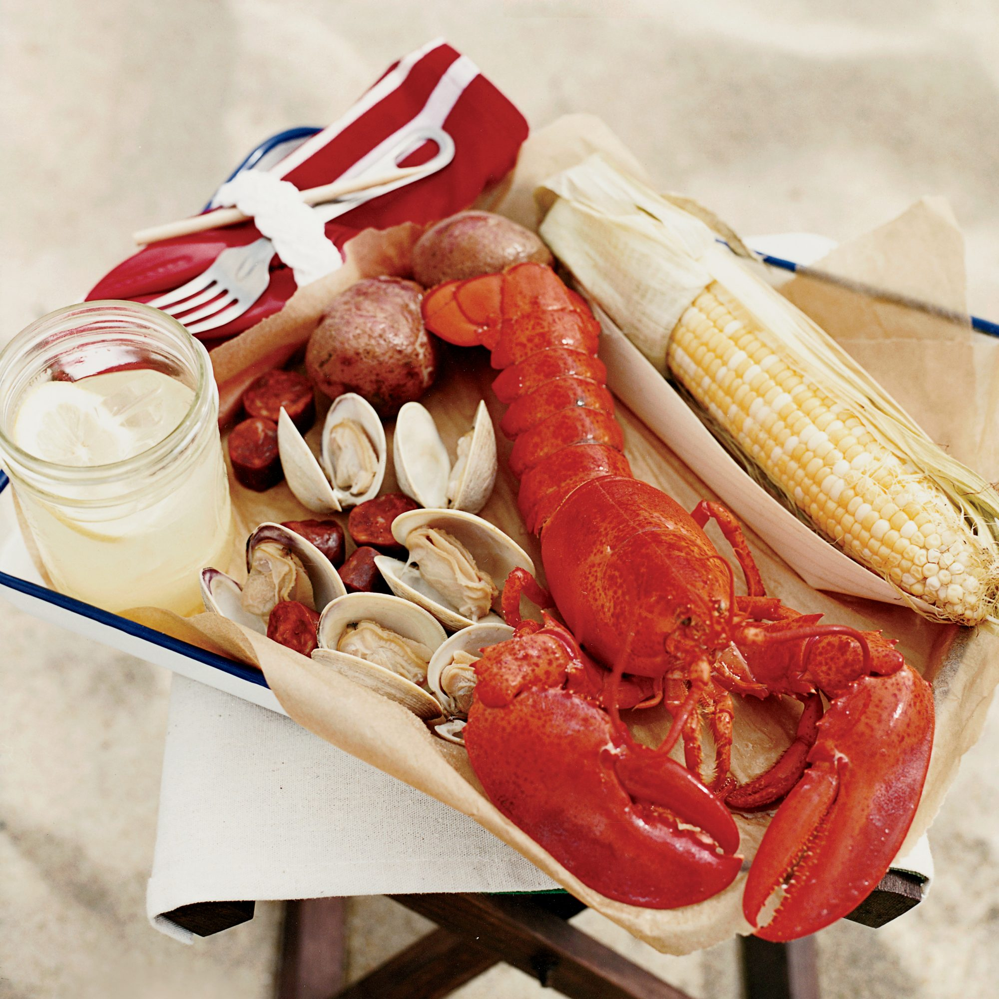 A Traditional New England Clambake