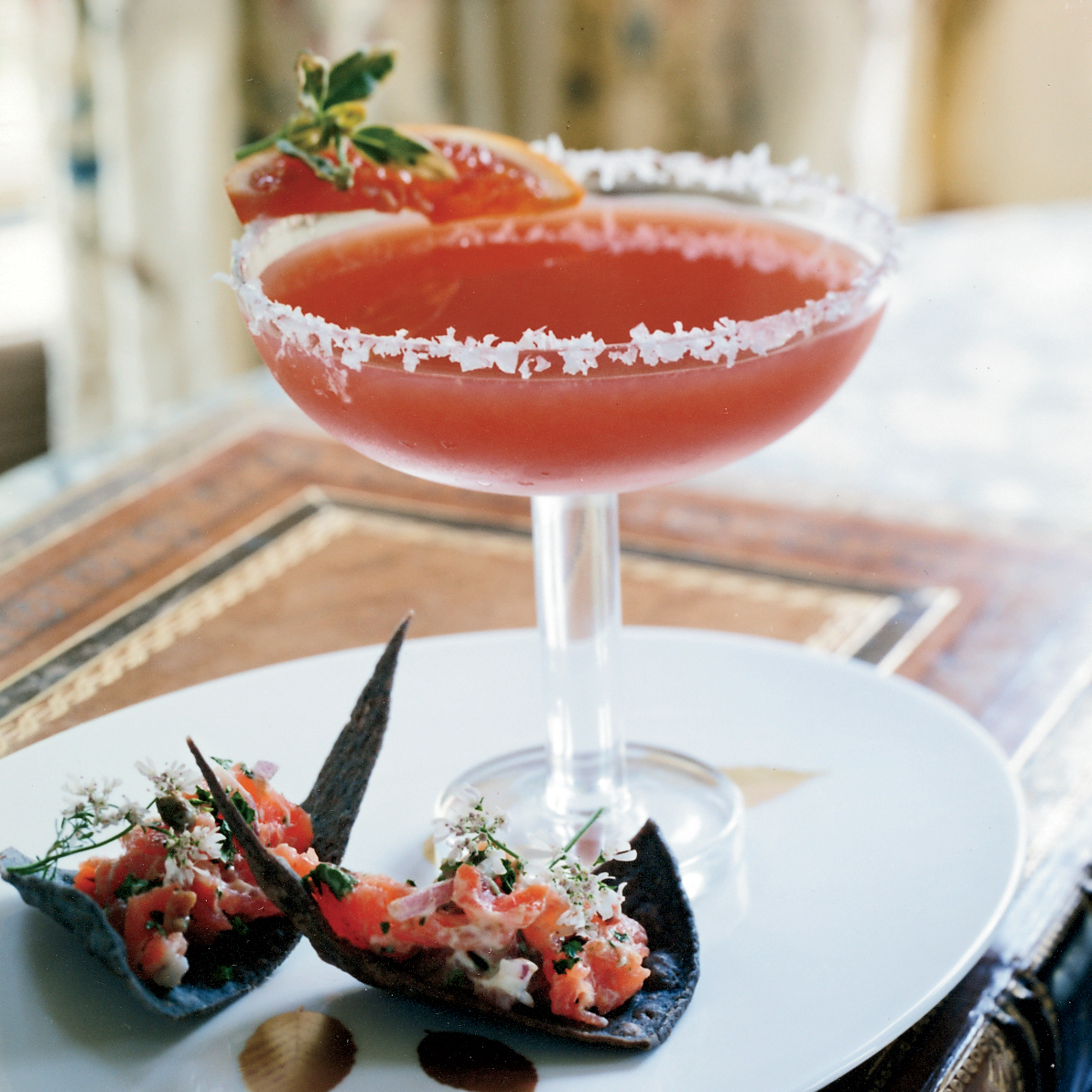 Blood Orange Margaritas Recipe - Dean Fearing | Food & Wine