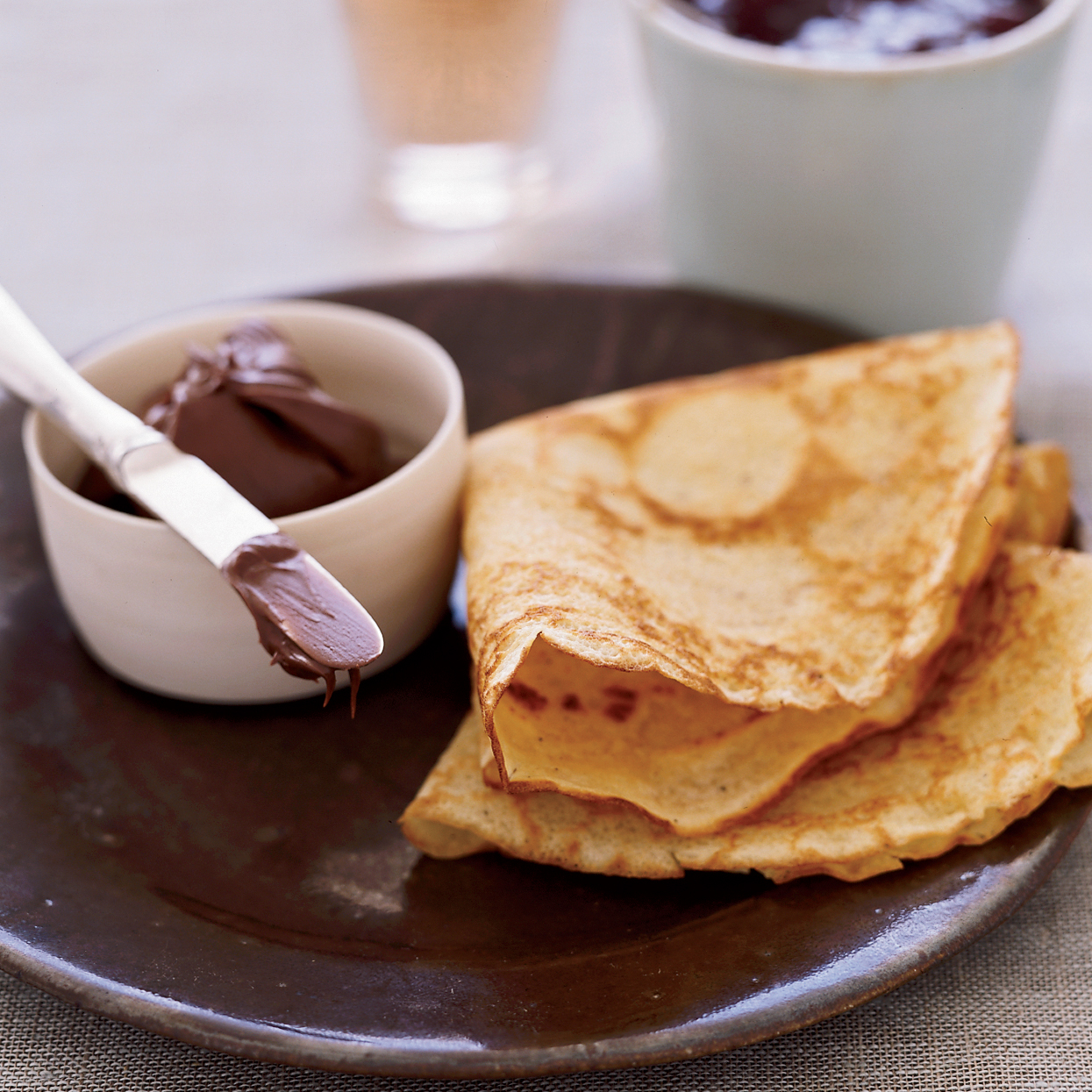 how to make nutella crepes with tortillas