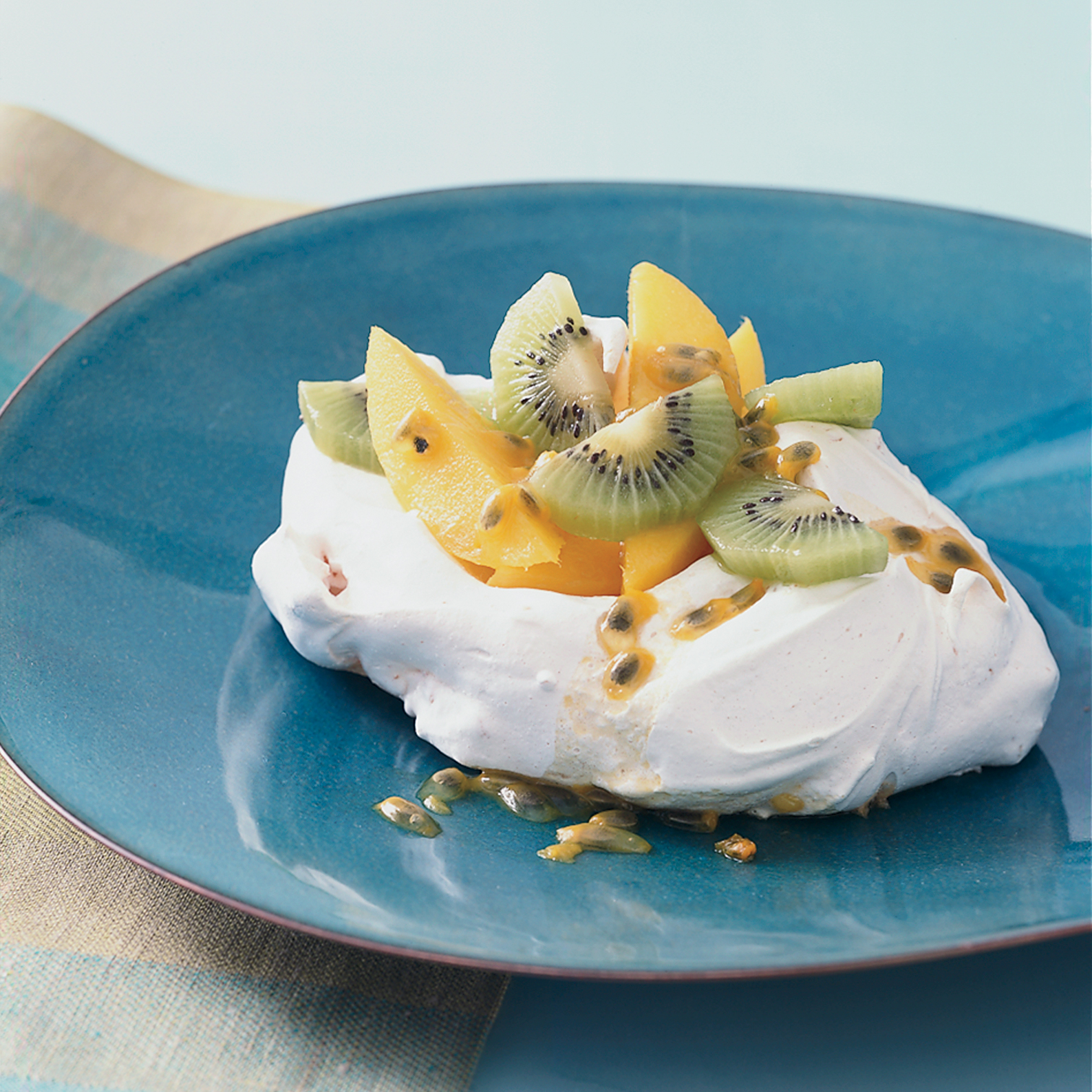 How to Make Meringue: Coconut Pavlovas with Tropical Fruit