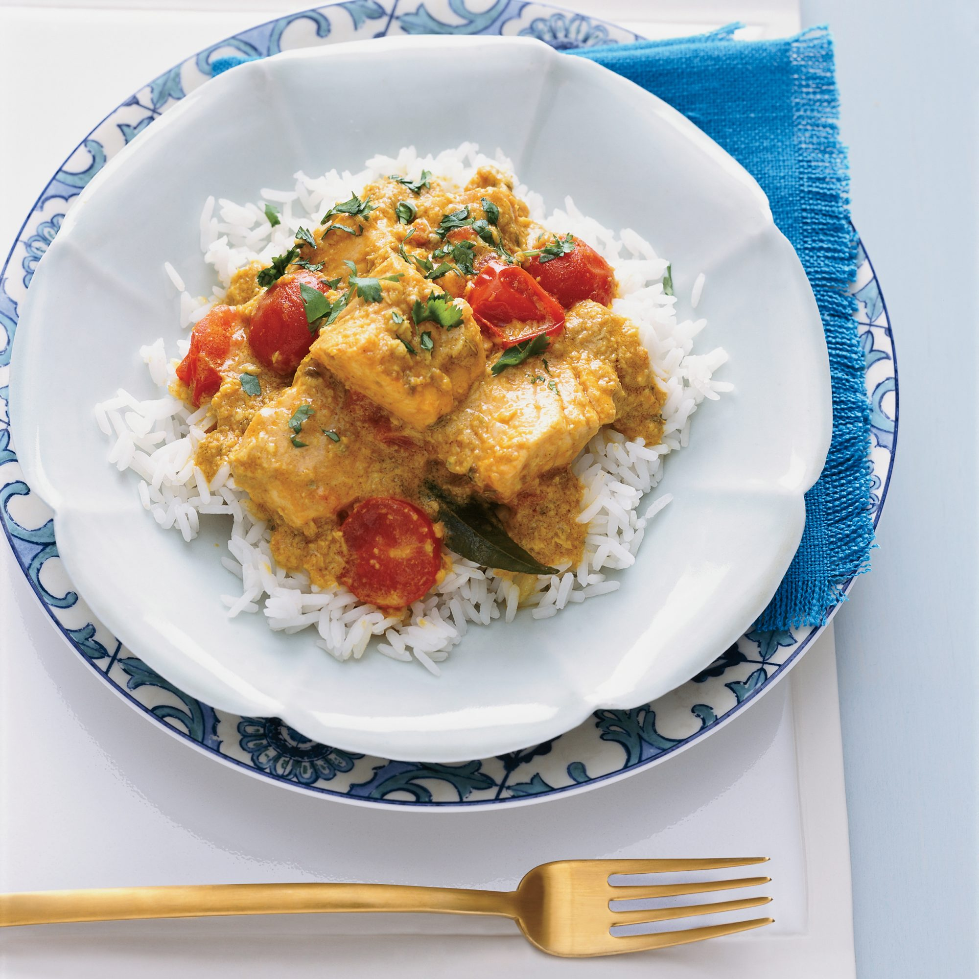Indian Coconut Fish Curry Recipe - Anya von Bremzen | Food & Wine