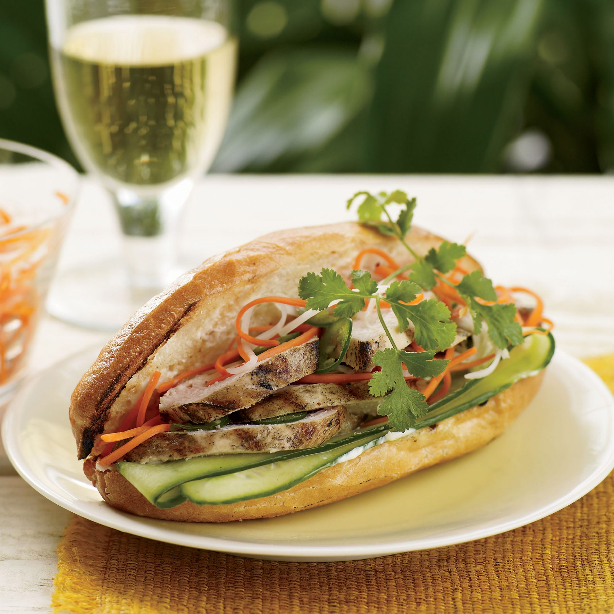 Grilled-Chicken Banh Mi Recipe - Nick Fauchald | Food & Wine
