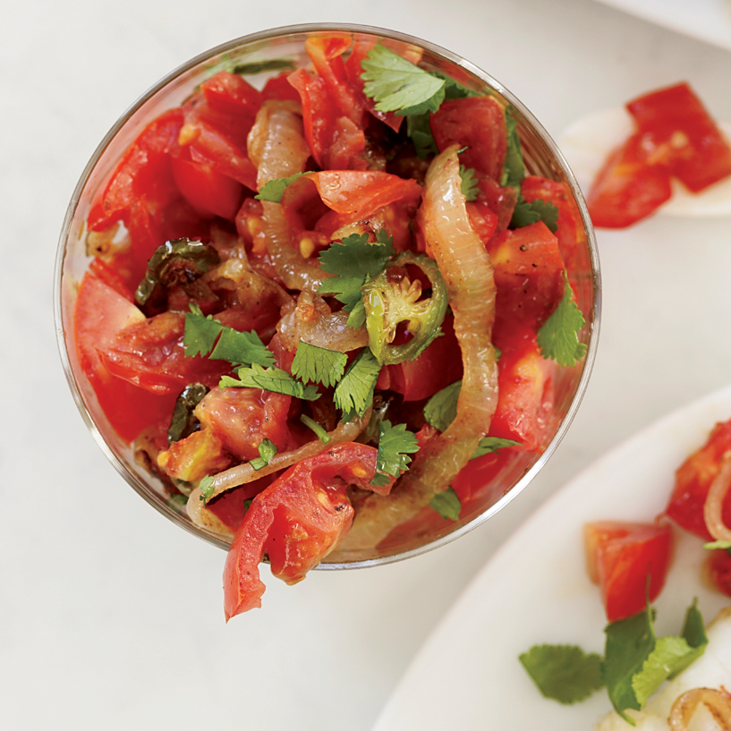 Summer Produce Guide: Indian-Spiced Tomato Salsa