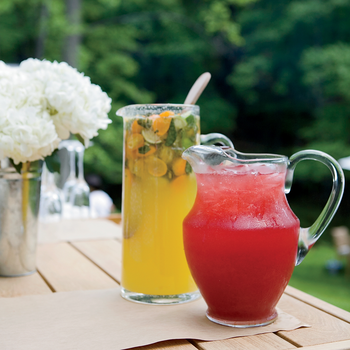 Summer Produce Guide: Sour Cherry-Yuzu Bellinis