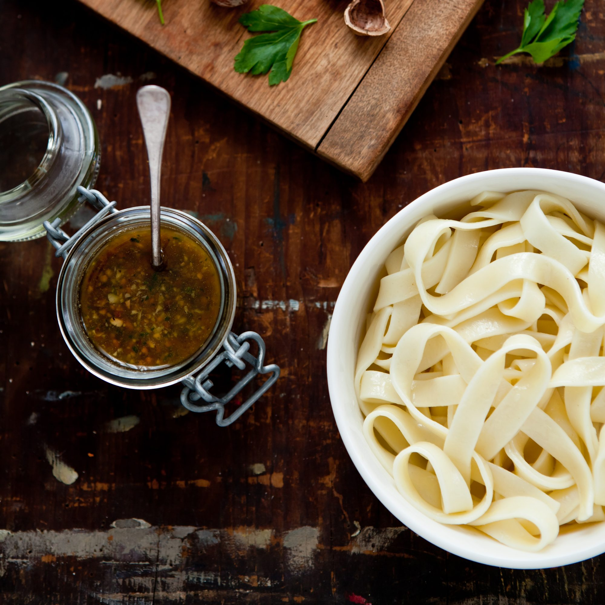Hazelnut-and-Green Olive Pesto