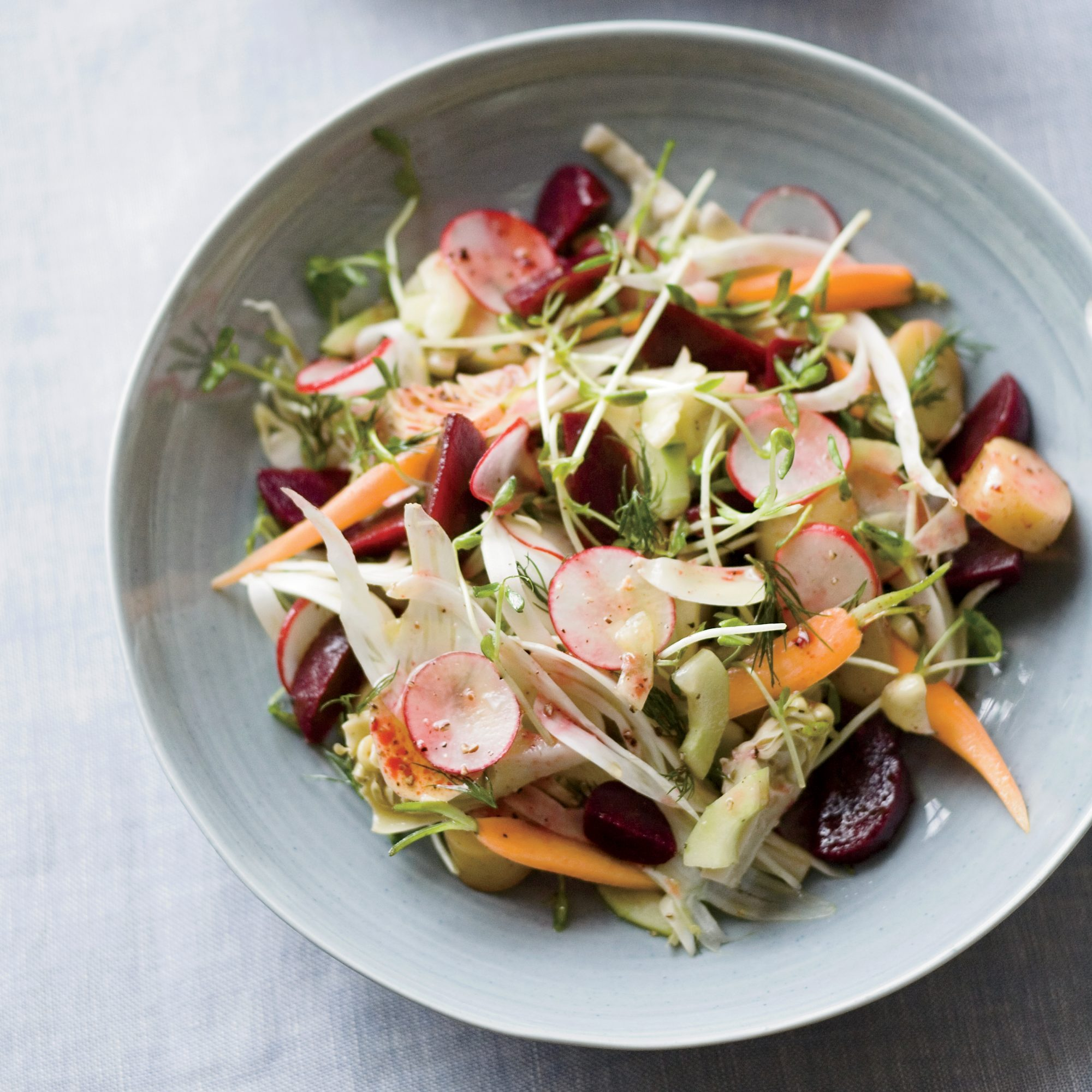 10 famous chef dishes simplified food wine august chopped salad forumfinder Choice Image