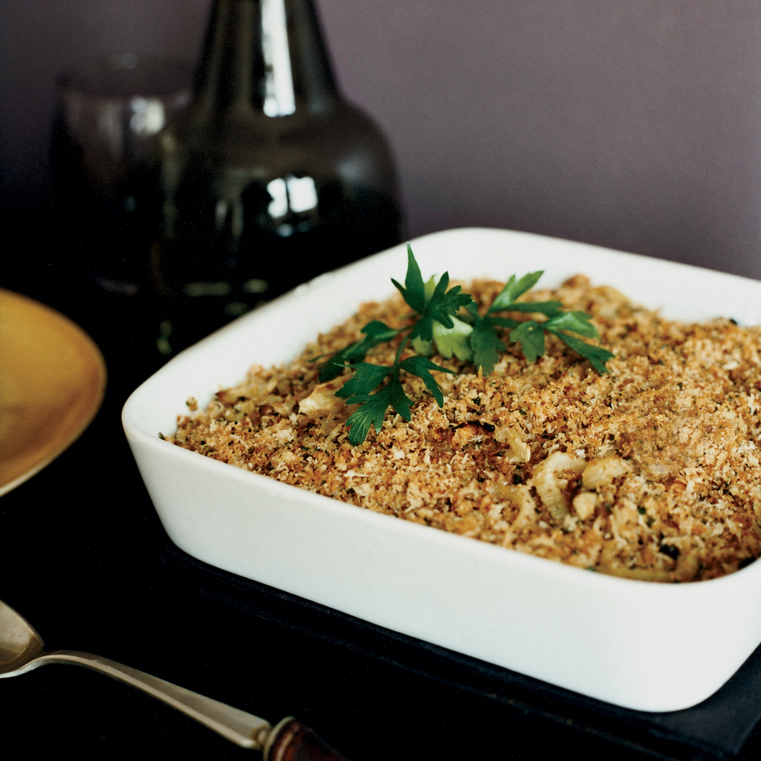 Crunchy Baked Fennel
