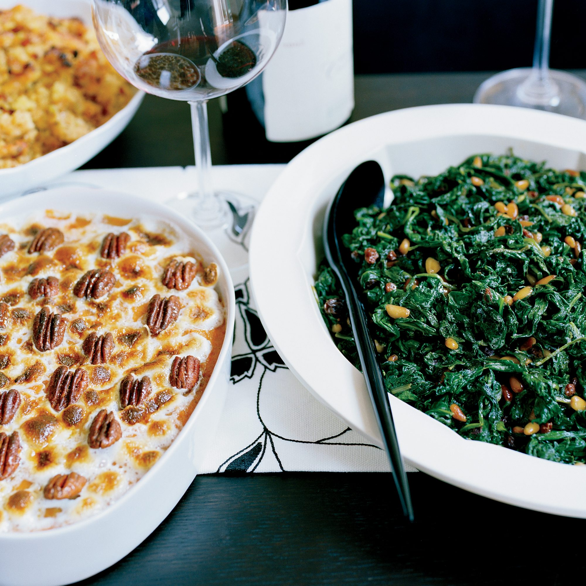 Sweet Potato Gratin with Chile-Spiced Pecans Recipe -Jose Garces ...
