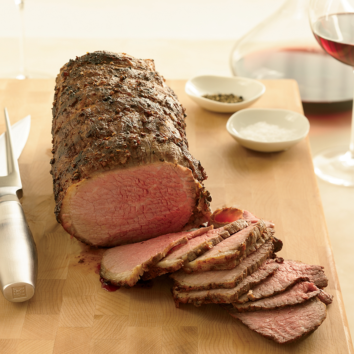 Coriander-Dusted Roast Beef Recipe - Grace Parisi