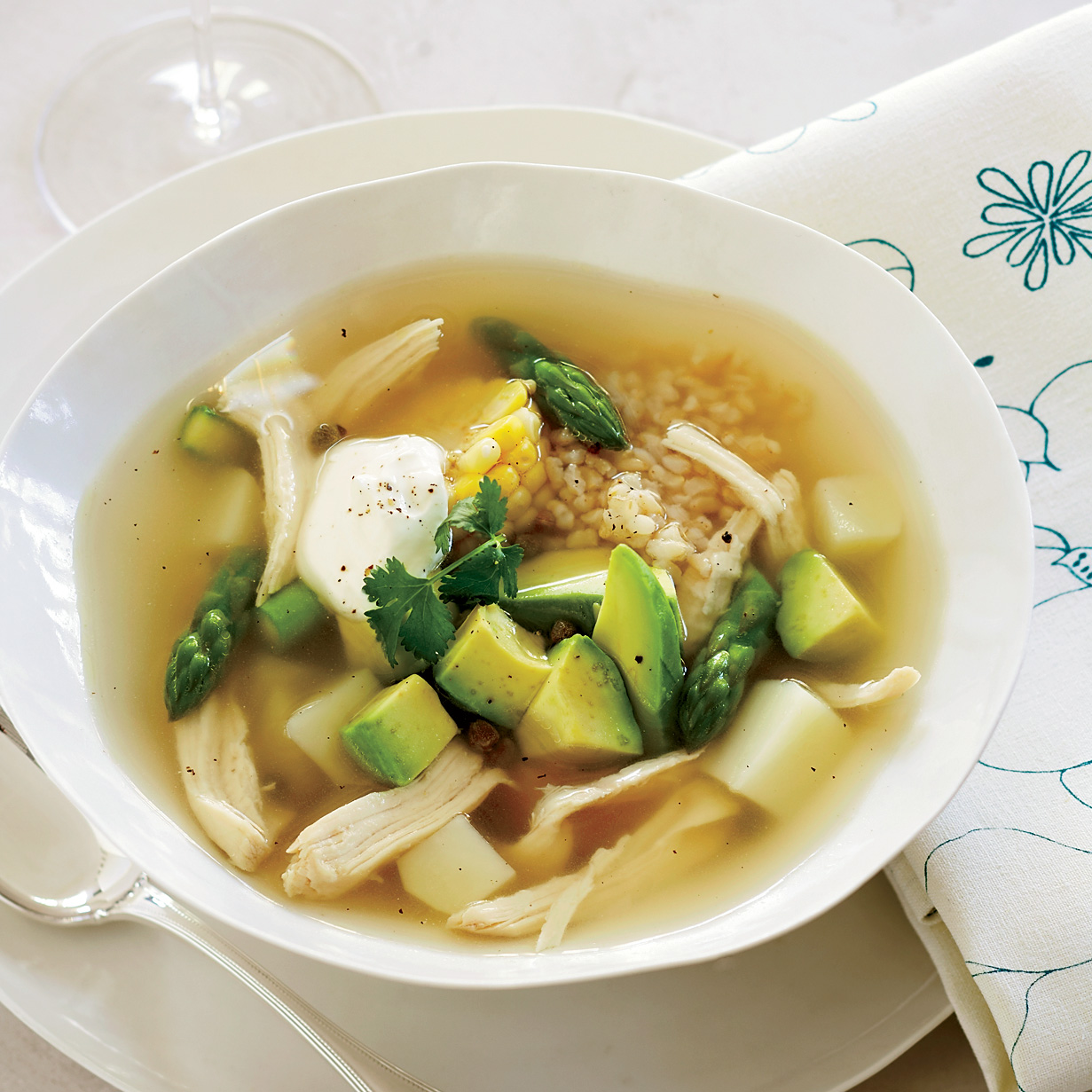 Colombian chicken soup recipe doris esther ayola orozco food wine forumfinder Image collections