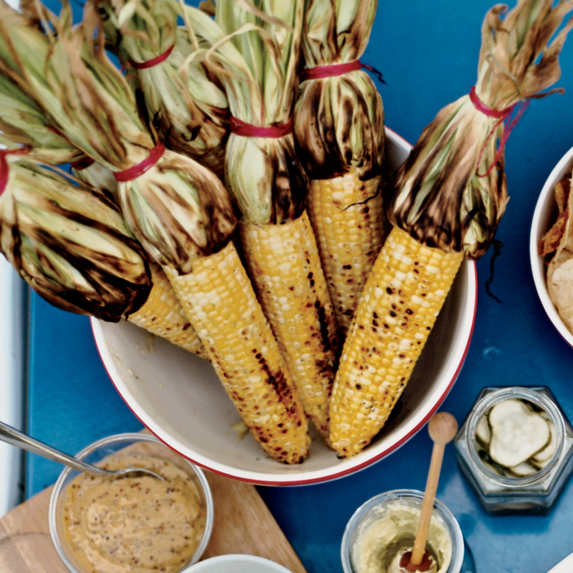 Grilled Corn With Mango-Habanero Butter Recipe