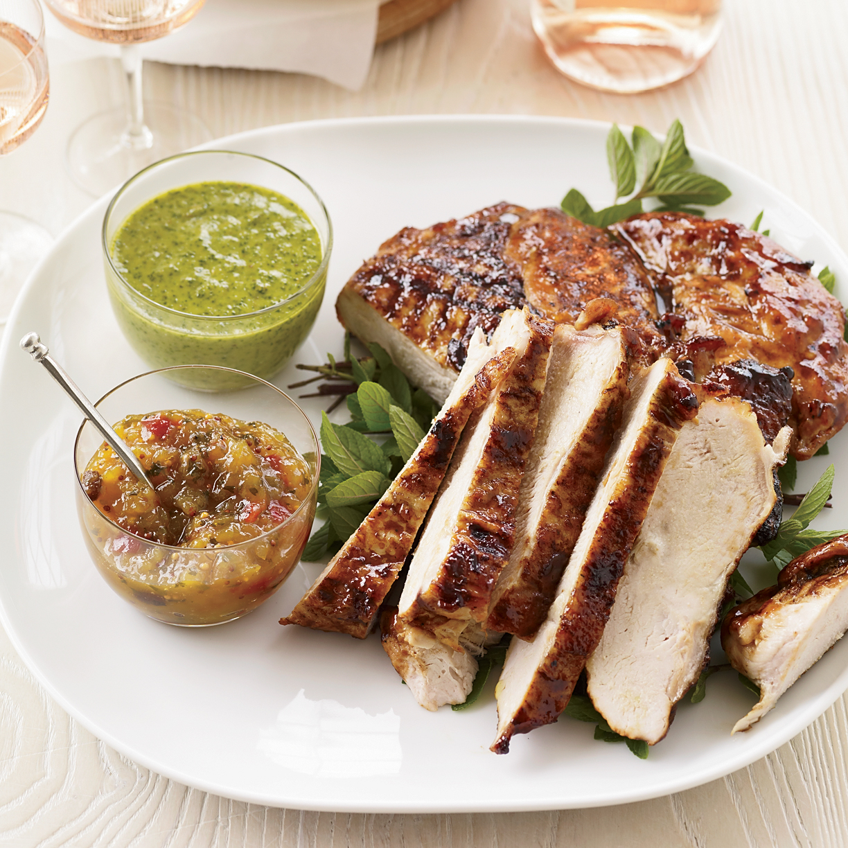 Mango-Glazed Turkey Breast