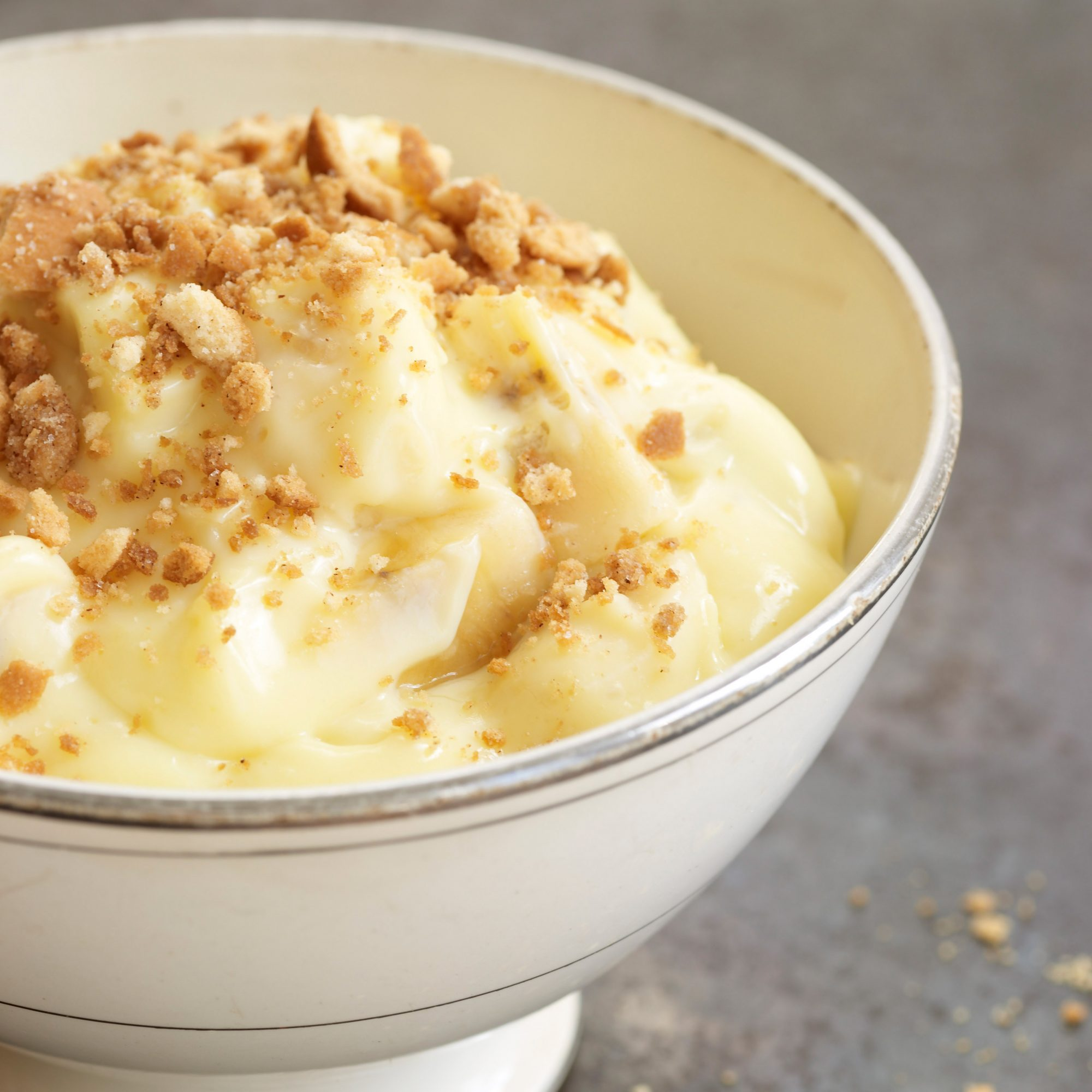 Banana Pudding with Vanilla Wafer Crumble Recipe - David ...
