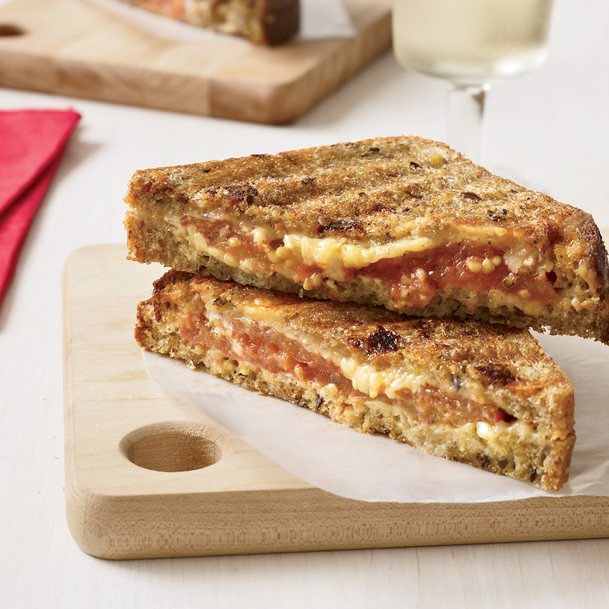Deliciously Gooey Grilled Cheese Sandwiches