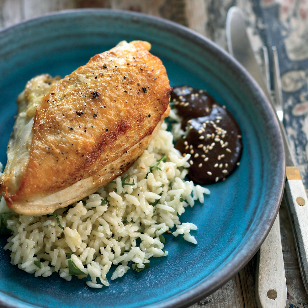 Pan-Roasted Chicken Br...