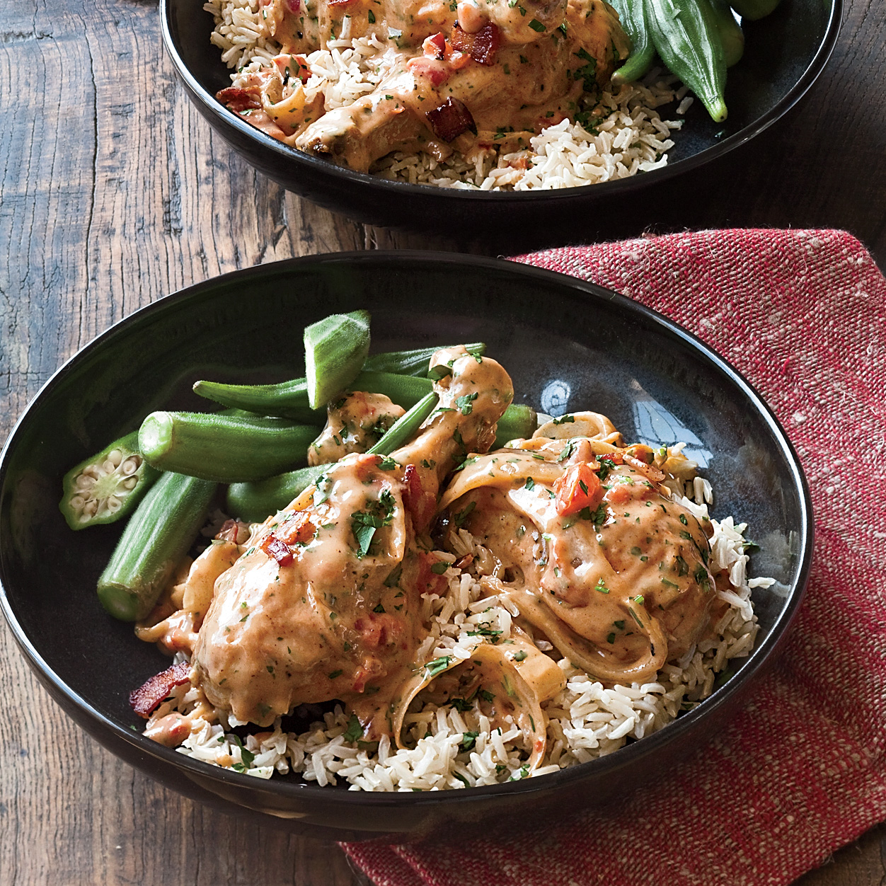 Chicken Smothered in Gravy Recipe - Mark Peel | Food & Wine