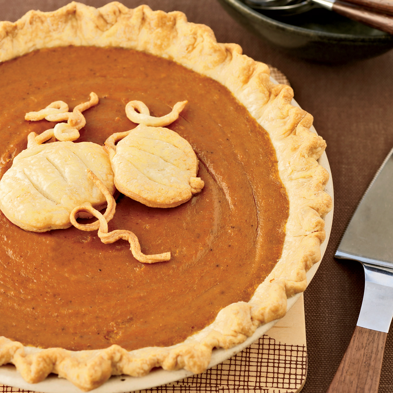 Classic, Custardy Pumpkin Pie
