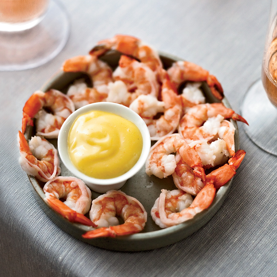 How to Make Mayonnaise: Boiled Shrimp with Spicy Mayonnaise